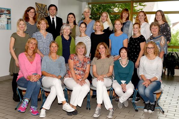 Das Team der Saalburgschule im Schuljahr 2017/2018